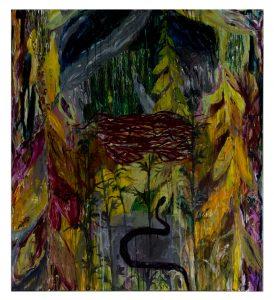 Dimensions 130×146 Acrylique